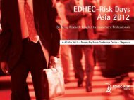 Alternatives to Cap-Weighted Equity Indices - 9 May ... - EDHEC-Risk