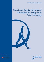 Structured Equity Investment Strategies for Long ... - EDHEC-Risk