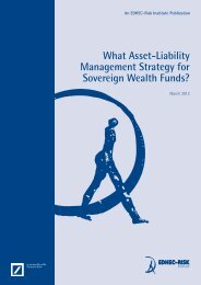 What Asset-Liability Management Strategy for Sovereign ... - Edhec