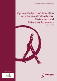 Optimal Hedge Fund Allocation with Improved Estimates for ...