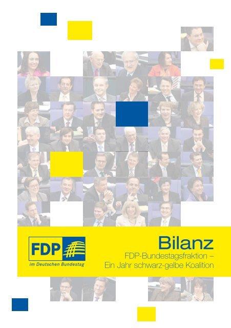 Bilanz - FDP-Bundestagsfraktion