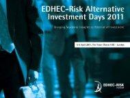 the Cross-Sectional Volatility Index (CVIX - EDHEC-Risk