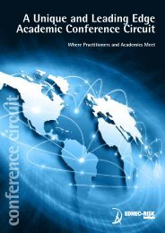 conference circuit - EDHEC-Risk