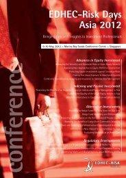 EDHEC-Risk Days Asia 2012