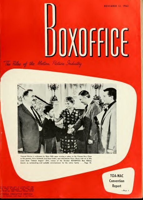 Boxoffice November121962