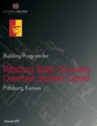 PSU JH Overman Student Center Expansion and Renovation