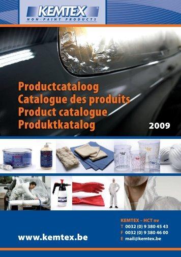 Productcataloog Catalogue des produits Product catalogue ...