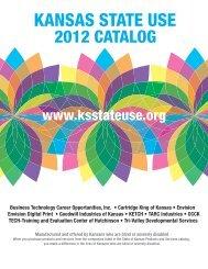 Kansas state use 2012 catalog