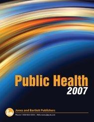 Public Health - Jones & Bartlett Learning