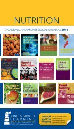 NUTRITION - Jones & Bartlett Learning
