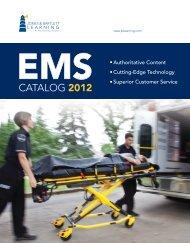 2012 EMS Catalog - Jones & Bartlett Learning