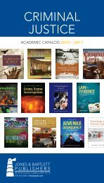 Criminal Justice 2010.pdf - Jones & Bartlett Learning