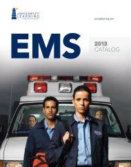2013 EMS Catalog - Jones & Bartlett Learning