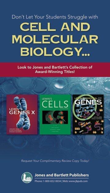 Cell and Molecular Biology... - Jones & Bartlett Learning