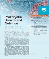 Prokaryotic Growth and Nutrition - Jones & Bartlett Learning