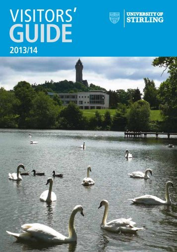 Visitor Guide 2013 - University of Stirling