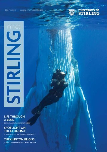 Stirling Minds 2010 - University of Stirling