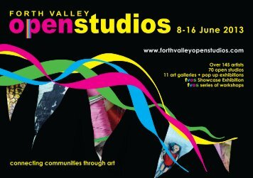 Forth Valley Open Studios Brochure - University of Stirling