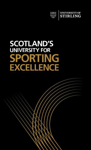 Sport Strategy - University of Stirling