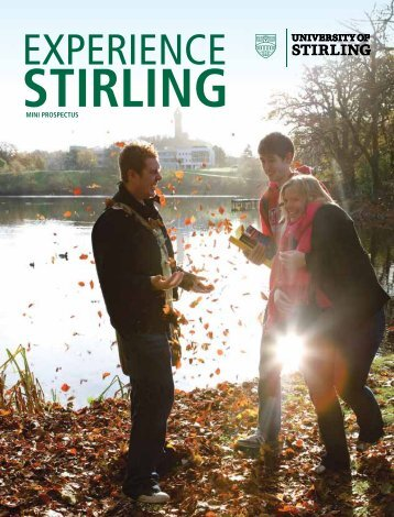 Mini Prospectus - University of Stirling