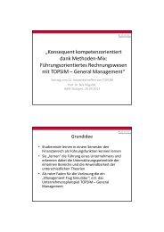 Anwendertreffen 2013: Methodisch Didaktisch Prof Högsdal - Topsim