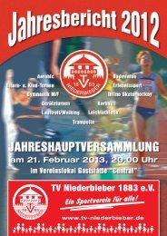 jahresbericht 2012 - TV Niederbieber 1883 eV