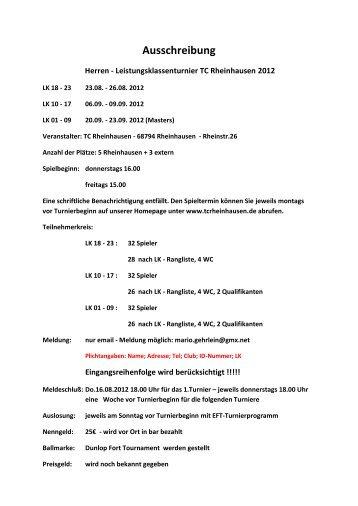 2041-2-Ausschreibung Herren-LK- Turnier TC ... - TVPro-online