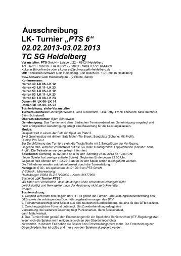 1657-14-Ausschreibung LK Turnier PTS 6.pdf - TVPro-online