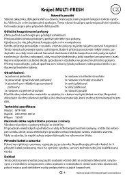 manual krajec multifresh.indd - tv products cz
