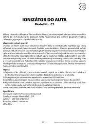 Návod - tv products cz