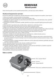 REMOVAR - tv products cz