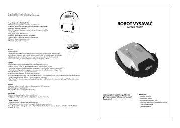 robot vysavač - tv products cz