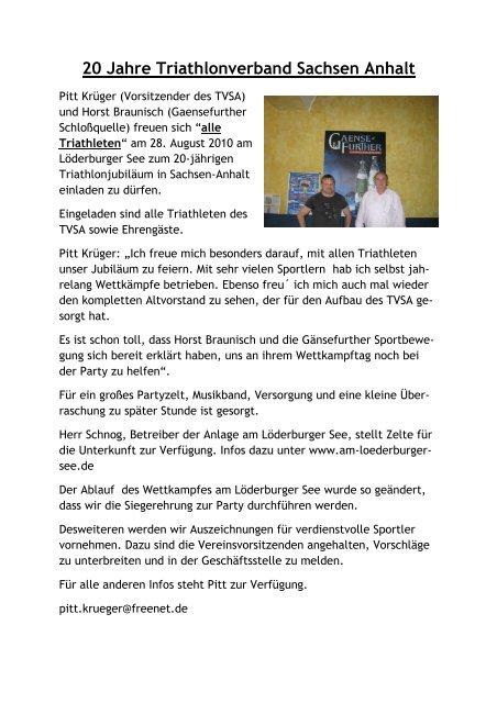 Online Anzeige Sachsen Anhalt