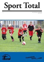 Sport Total Nummer 2 | September 2009 ISSN 1663-1099 - TV Teufen