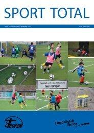 Sport total Nummer 6 | Dezember 2010 ISSN 1663-1099 - TV Teufen