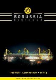 Geschäftsbericht 2002/2003 KGaA/Konzern - BVB Aktie - Borussia ...