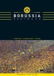 Geschäftsbericht 2003/2004 KGaA/Konzern - BVB Aktie - Borussia ...