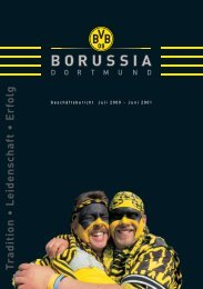 Geschäftsbericht 2000/2001 KGaA/Konzern - BVB Aktie - Borussia ...