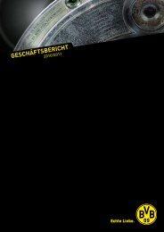 Geschäftsbericht 2010/ 2011 - BVB Aktie - Borussia Dortmund