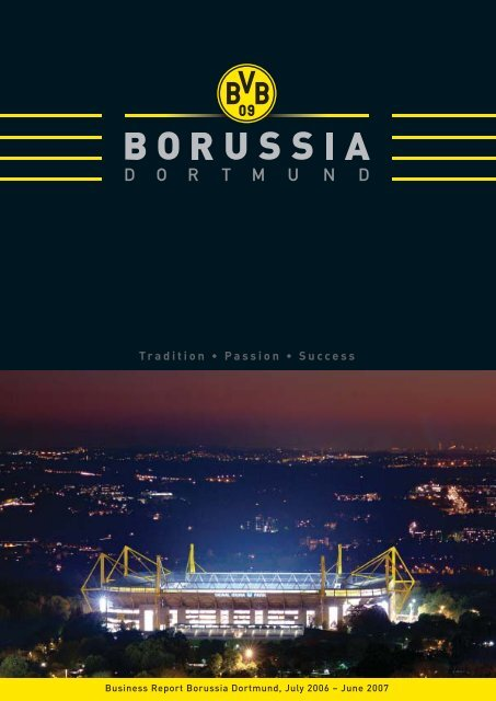 Annual Report 2006/2007 KGaA/Group - BVB Aktie - Borussia ...