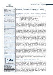 Research Report Bankhaus Lampe KG - BVB Aktie - Borussia ...