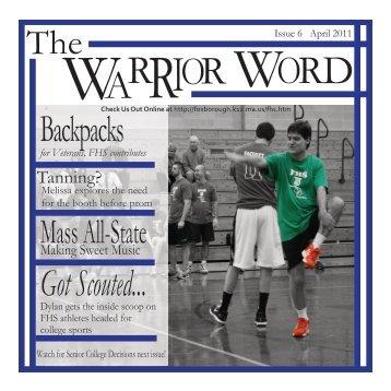 April Edition - Foxborough Public Schools