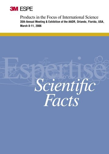 Espertise Scientific Facts, 2006 - Dental Lab – High Quality Dental ...
