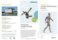 Thementag Schulter und Ellenbogen im Sport Informationen ... - DVSE