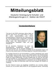 Mitteilungsblatt - DVSE