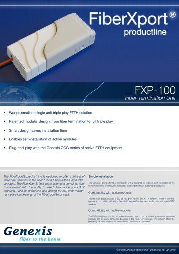 FXP-100 - Kuster Netcom AG