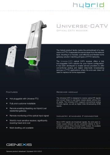 Universe-CATV - Genexis