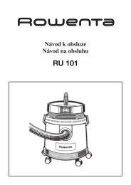 Rowenta vysavac RU101.cdr - Net