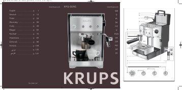 IFU KRUPS XP52 SERIE (EE) 0828143.qxd:0828143 - Net