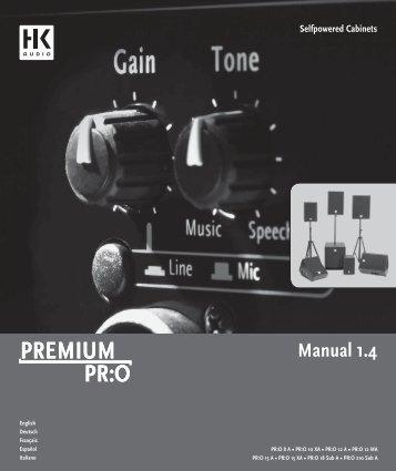 Selfpowered Cabinets Manual 1.4